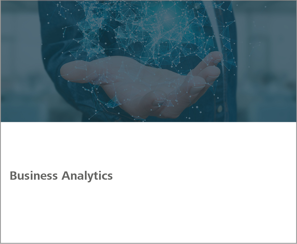 Weiterbildung Business Analytics