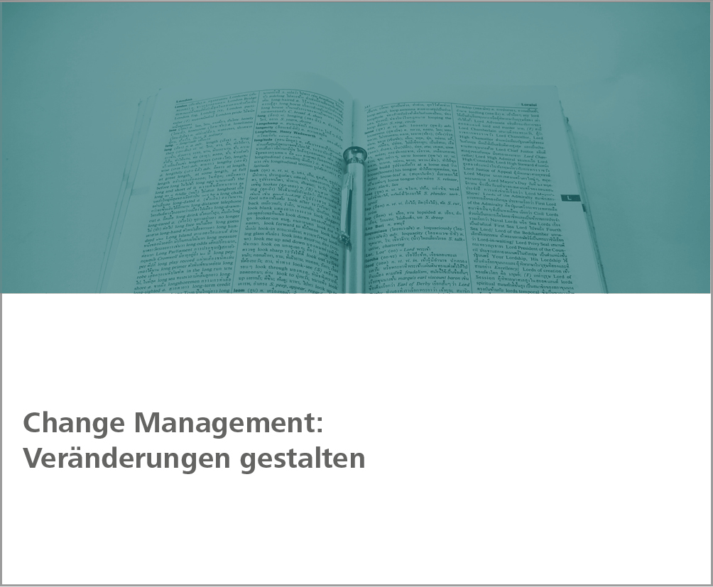 Weiterbildung Change Management