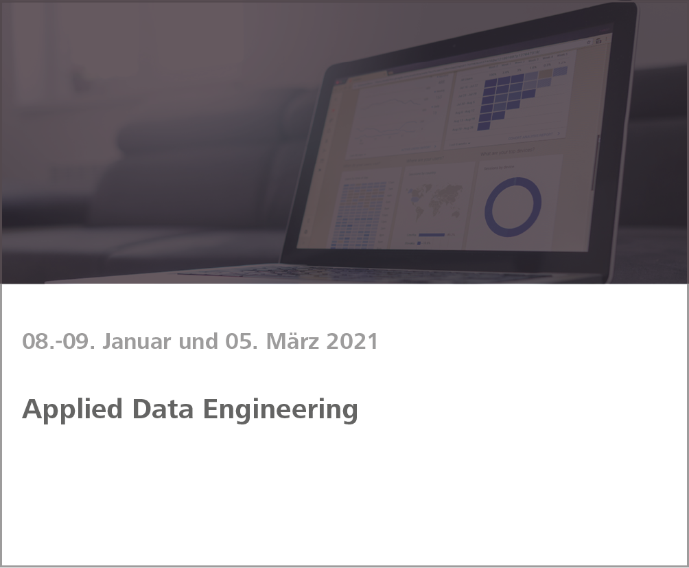 Weiterbildung Applied Data Engineering