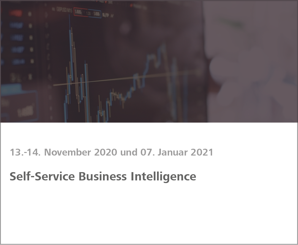 Weiterbildung Self-Service Business Intelligence