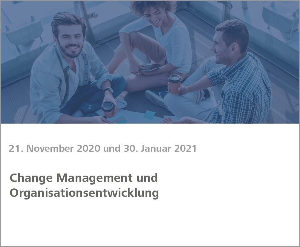 Weiterbildung Change and People Management
