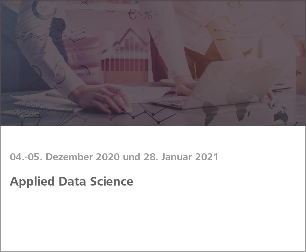 Weiterbildung Applied Data Science