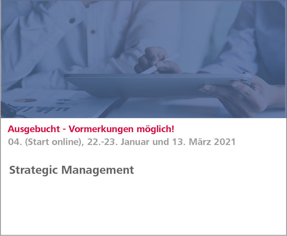 Weiterbildung Strategic Management