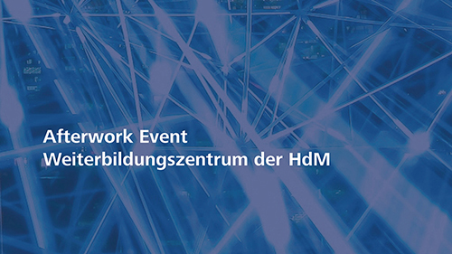 Afterwork Event am 15. Mai