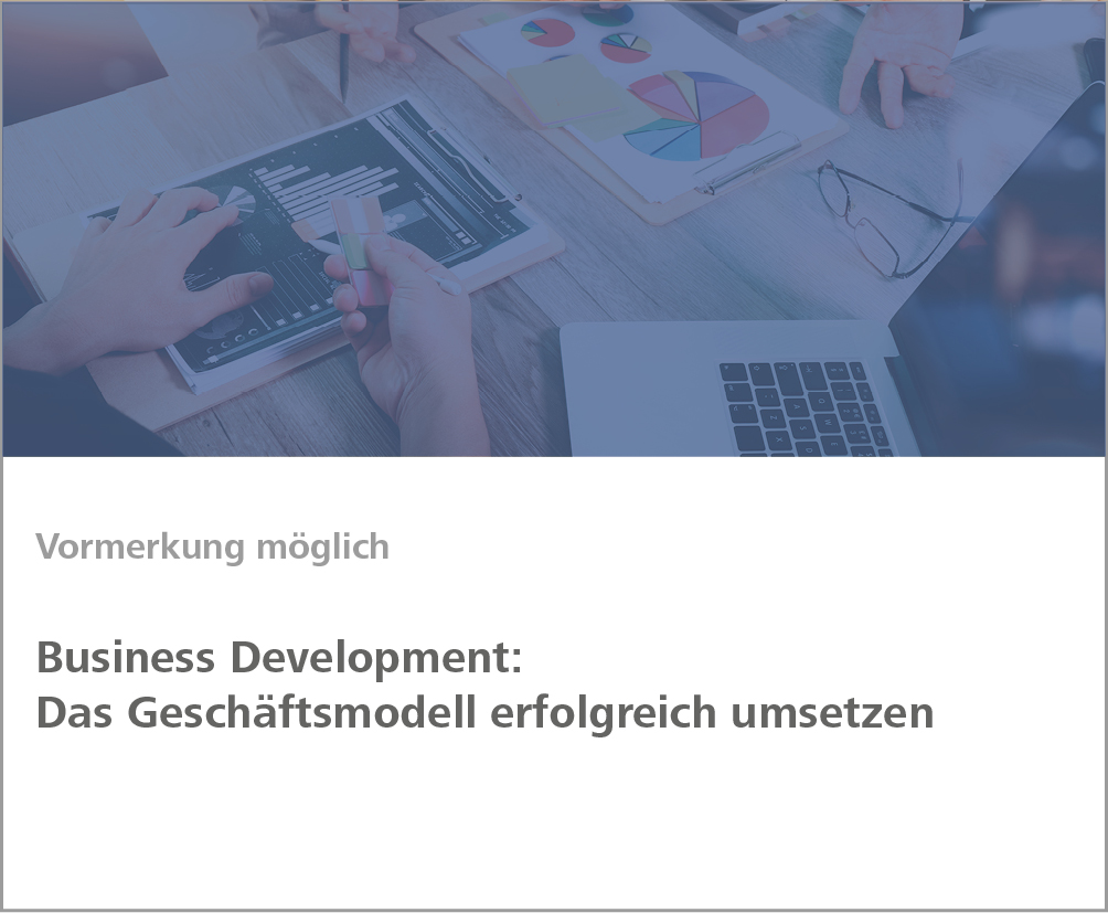 Weiterbildung Business Development